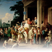 The Country Election (Painting) by George Caleb Bingham
